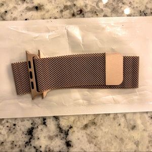 44mm Rose Gold Stainless Steel Mesa Loop Band